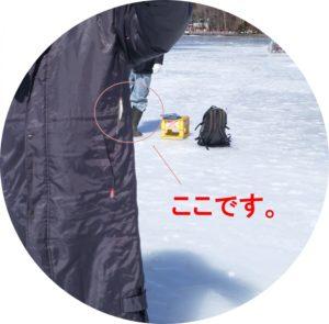 ワカサギ大河内(ここ)